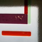 Photo d'une fenêtre en fusing